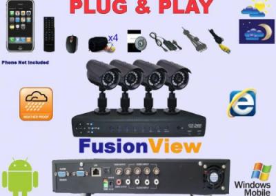 Plug and Play CCTV